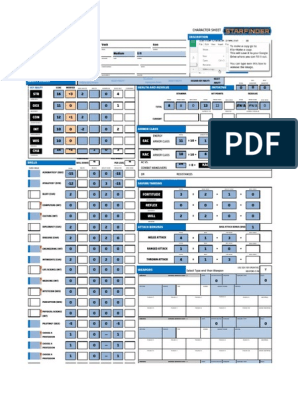 image regarding Starfinder Character Sheet Printable named Starfinder Temperament Sheet Part Enjoying Game titles Armed Conflict