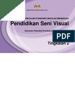 Dskp Kssm Pendidikan Seni Visual Tingkatan 2