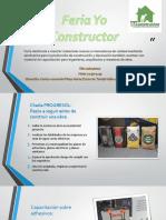Feria Yo Constructor Ppt