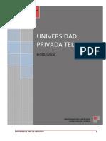Bioquimica silabus
