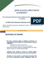 A1 O de Bandt - Does the Capital Structure Affect Banks Profitability