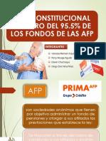 Retiro Del 95.5 de Las Afp. Seguridad Social