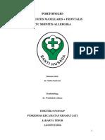 Laporan Kasus Sinusitis Pkc