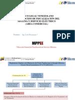 Marco Legal Venezolano en El Proceso de Fiscalización Del Sistema y Servicio Eléctrico (Area Comercial)