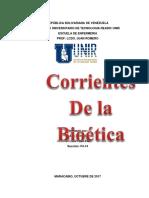 Definición de Corrientes de La Bioetica