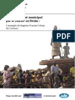 Le financement municipal par le foncier au Bénin