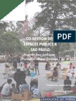CO-GESTION DES ESPACES PUBLICS À SÃO PAULO. Étude de deux politiques