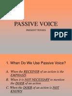 Passive Voice-present Tenses