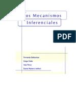 Los Mecanismos Inferenciales.