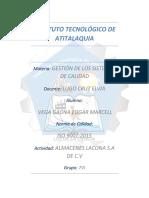 Interpretación de ISO9001:2015