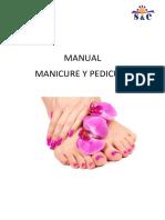 Manual Pedicure y Manicure