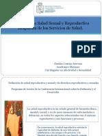 Problemas de Salud Sexual y Reproductiva Respuesta 2017