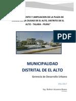 Resumen Ejecutivo Plaza de Armas