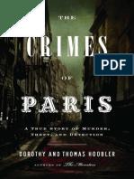 Crimes of Paris_ A True Story of Murder, Theft.epub