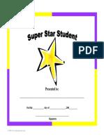 Award Superstarstudent