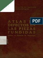 Atlas de Defectos de Fundicion
