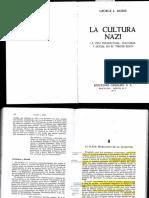 Mosse. La Cultura Nazi. Prologo, Cap. 1 y 8