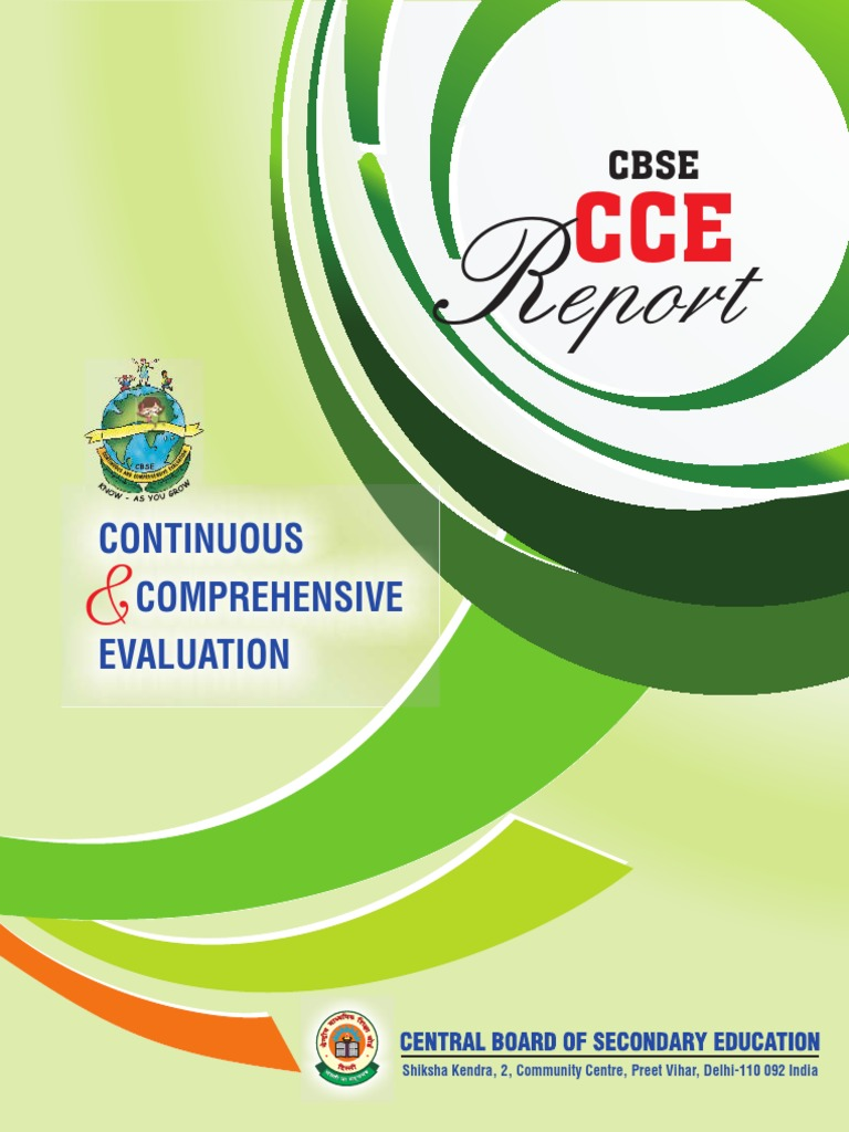 cce report 2014 english educational assessment test assessment