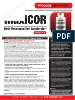 MAXICOR Body Recomposition Accelterator by Max Muscle Nutrition