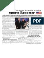November 8 - 14, 2017  Sports Reporter