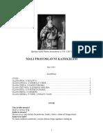 Episkop Platon Atanacković - Mali Pravoslavni Katekizam