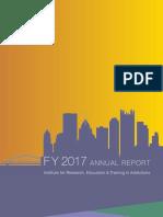 IRETA Annual Report, 2017