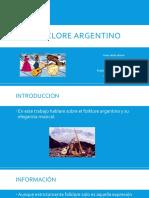 Folklore Argentino Juan Duran 8A