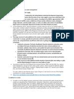 Toxic Substances and Hazardous Waste Management