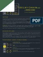 Delay Chain User Manual