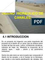 Diseño Hidráulico de Canales