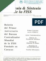 Hipotesis & Sintesis de La FISS