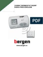 Bergen Termostati Bq3rf