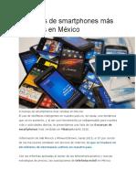 8 Marcas de Smartphones Más Vendidas en México