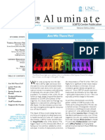Aluminate LGBTQ Center Alum Newsletter Fall 2015
