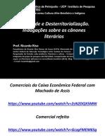 AULA cânone literário - PÓS UCP-IPETEC - 10.2014.ppt