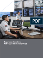 Brochure Seguridad Electronica Miotel