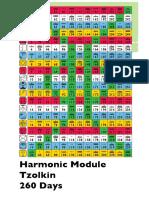 Harmonic Module Tzolkin