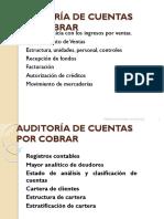Auditoría de Cuentas Por Cobrar
