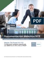 SCE ES 013-101 Hardware Configuration S7-314C R1503