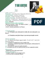 Proiect de Lectie Lb Romana Cl. 3