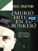 Murio Hitler en El Bunker