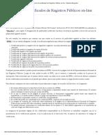 Obtención de Certificados de Registros Públicos on-line – Martinot Abogados