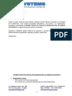 Informe Tecnico Implementacion Correos Electronicos