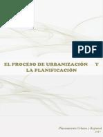 El Proceso de Urbanización y La Planificacion 2017