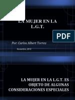 Presentación - La Mujer en la LGT