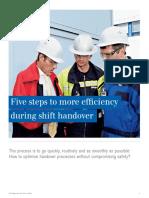 Draeger Shift Handover Safety en 201408