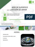 Exposición Facilidades de Superficie Inyección Vapor