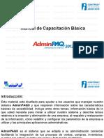 Manual de Adminpaq 2012 Alfa