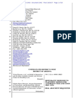 Defendants Response to Plaintiffs Request for Payment