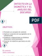 Prágmatica y Análisis Del Discurso. Semana No 4